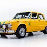 Alfa Romeo Giulia 1300 geel-