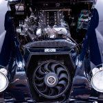 Jaguar XK150 blauw-1591
