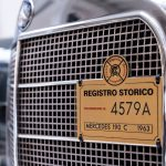 Mercedes 190C grijs-1450