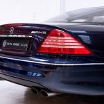 Mercedes CL55 AMG blauw-1347
