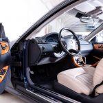 Mercedes CL55 AMG blauw-1355