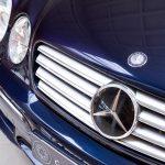 Mercedes CL55 AMG blauw-1377