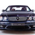 Mercedes CL55 AMG blauw--2