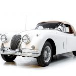 Jaguar XK150 wit-