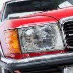 Mercedes 280 SL rood-8936