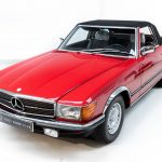 Mercedes 280 SL rood-8942