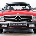 Mercedes 280 SL rood-8943