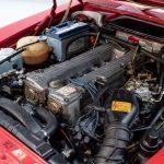 Mercedes 280 SL rood-8944