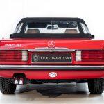 Mercedes 280 SL rood-8970