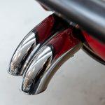 Mercedes 280 SL rood-8972