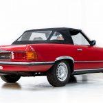 Mercedes 280 SL rood-8974