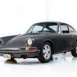 Porsche 911S grijs-