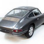Porsche 911S grijs-9016