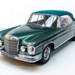 Mecedes 300 SE groen-2904