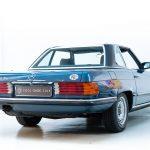 Mercedes 280SL blauw-3652