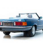 Mercedes 280SL blauw-3659