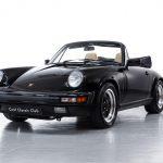 Porsche 911 Carrera cabrio zwart-