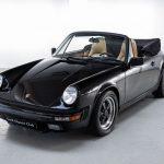 Porsche 911 Carrera cabrio zwart-8446