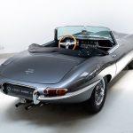 Jaguar E-Type Cabrio grijs-6810