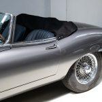 Jaguar E-Type Cabrio grijs-6841