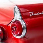 Cadilac Thunderbird rood-8765
