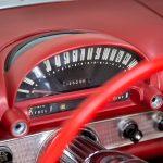 Cadilac Thunderbird rood-8767