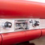 Cadilac Thunderbird rood-8772