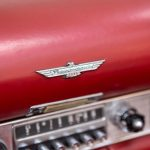 Cadilac Thunderbird rood-8773