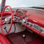 Cadilac Thunderbird rood-8782