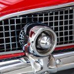 Cadilac Thunderbird rood-8790