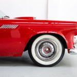 Cadilac Thunderbird rood-8796