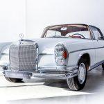 Mercedes 200SE wit--2