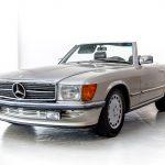 Mercedes 500SL brons-