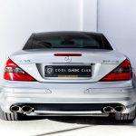 Mercedes SL55 AMG zilver-