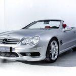 Mercedes SL55 AMG zilver--3