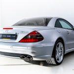 Mercedes SL55 AMG zilver-9055