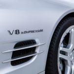 Mercedes SL55 AMG zilver-9061