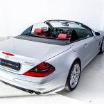 Mercedes SL55 AMG zilver-9062