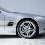 Mercedes SL55 AMG zilver-9082