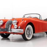 Jaguar XK150 rood-