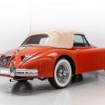 Jaguar XK150 rood-8043