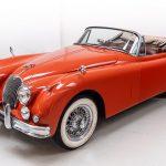 Jaguar XK150 rood-8074