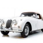 Jaguar XK150 wit-