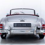 Mercedes 190SL zilver-6297