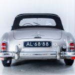 Mercedes 190SL zilver-6318