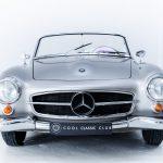 Mercedes 190SL zilver-6330