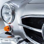 Mercedes 190SL zilver-6332