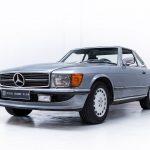 Mercedes SL grijs-