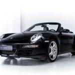 Porsche 911 Carrera zwart-