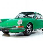 Porsche 911T groen-